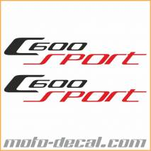 BMW C600 Sport Sticker Multicolor
