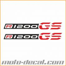 R1200GS LC 2014 Beak Sticker Multicolor
