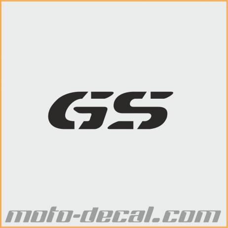 reflective bmw gs letters moto decalcom With reflective letter decals