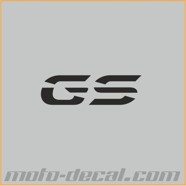 Reflective Bmw Gs 2014 Letters Moto Decal Com